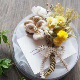 ネストローブ(nest Robe)の花束のブローチ(ブローチ/コサージュ)