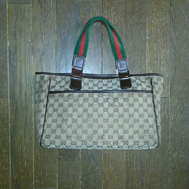 Gucci - グッチ トートバッグの通販 by 彦太郎's shop|グッチならラクマ
