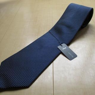 フィラ(FILA)の新品 フィラ(FILA) 濃紺 ネクタイ 撥水加工(ネクタイ)
