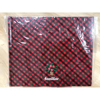 ファミリア(familiar)の【未開封】familiarチェックアルバム(中台紙10枚入)(アルバム)