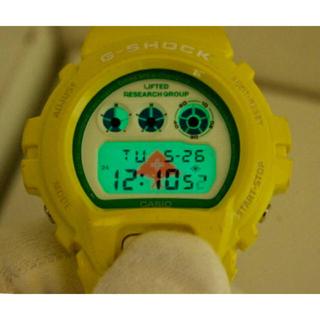 ジーショック(G-SHOCK)のG-SHOCK/DW-6900/LRG/限定/クレイジーカラー/イエロー/コラボ(腕時計(デジタル))