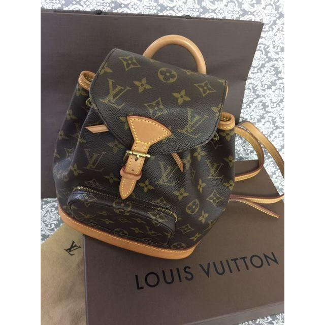 LOUIS VUITTON - 0880 美品 ルイヴィトン モノグラム リュック ミニモンスリ 正規品 A品の通販 by tune's shop|ルイヴィトンならラクマ