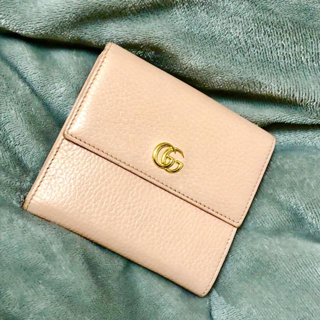 Gucci - GUCCI 二つ折り財布の通販 by まこ's shop|グッチならラクマ