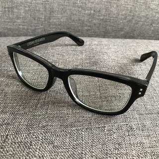 アーバンリサーチ(URBAN RESEARCH)のアーバンリサーチ 伊達メガネ 黒縁 度なし (サングラス/メガネ)