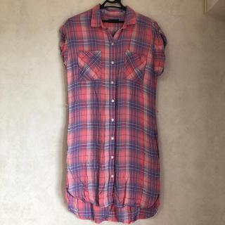ギャップ(GAP)のGAP ロングシャツ(シャツ/ブラウス(半袖/袖なし))