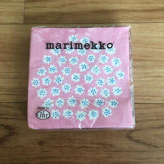 マリメッコ(marimekko)のマリメッコ☆プケッティペーパーナプキン25×25cm☆プロフ必読です!(その他)