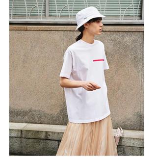 スナイデル(snidel)のSNIDEL  FILA バックプリントロゴT(Tシャツ/カットソー(半袖/袖なし))
