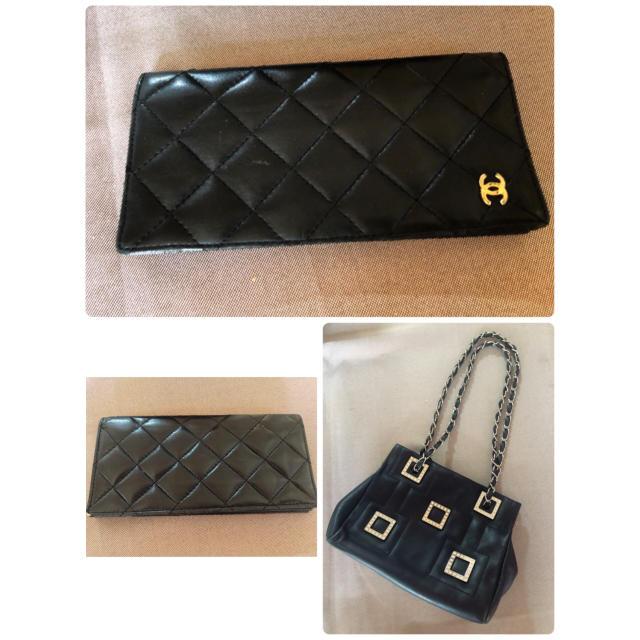 ジミーチュウ バッグ 激安代引き 、 CHANEL - CHANEL 折財布、本革チェーンバックの通販 by sana's shop |シャネルならラクマ