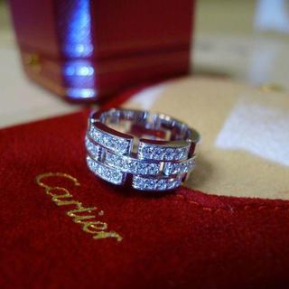 カルティエ(Cartier)の35石 高島屋メンテ カルティエ ダイヤ  パンテール リング 52 12号11(リング(指輪))