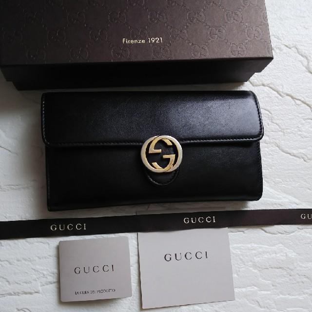 Gucci - 【美品】GUCCIグッチ 長財布の通販 by giジョ-'s shop|グッチならラクマ