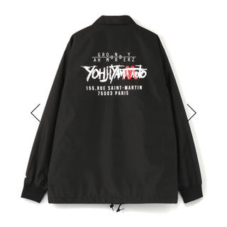 ヨウジヤマモト(Yohji Yamamoto)のgroundy newera×redspider コーチジャケット 値下げ(ナイロンジャケット)