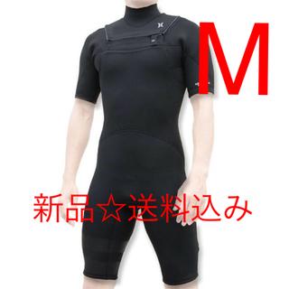 ハーレー(Hurley)のハーレー ウェットスーツ スプリング 2ミリ ブラック M メンズ ウェット(サーフィン)