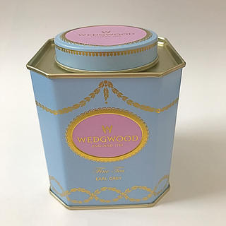 WEDGWOOD - ウェッジウッド  空き缶アールグレイ紅茶