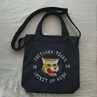 オニツカタイガー(Onitsuka Tiger)のオニツカタイガー キャンバスショルダーバッグ(トートバッグ)
