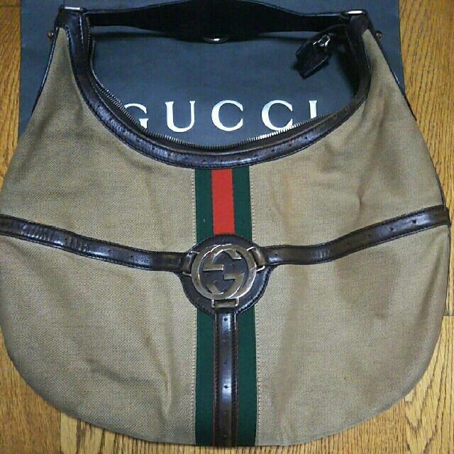 ジミーチュウ バッグ 激安 | Gucci - 【ただ今SALE中】GUCCI♥グッチのバッグ ヴィンテージの通販 by Lakshmi's shop|グッチならラクマ