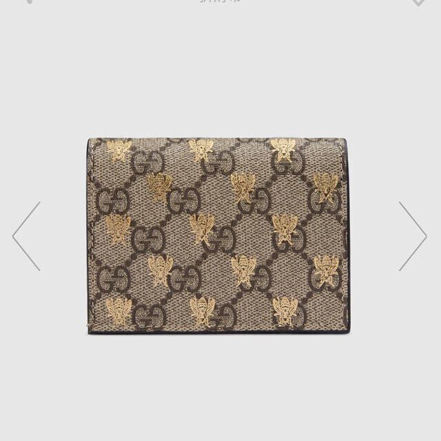 Gucci - GGスプリーム ビー(ハチ) カードケース(コイン&紙幣入れ付き)の通販 by 必見‼️売り切りショップ‼️|グッチならラクマ