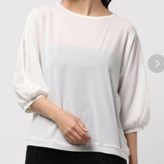 イッカ(ikka)のブラウス ホワイト(シャツ/ブラウス(半袖/袖なし))