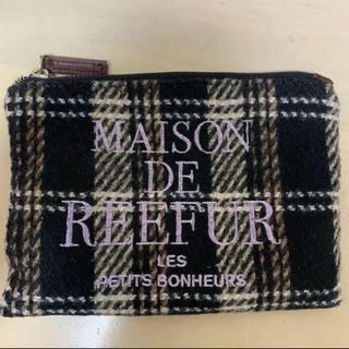 メゾンドリーファー(Maison de Reefur)の☆最終値下げ☆ Maison de reefur ポーチ 黒(ポーチ)