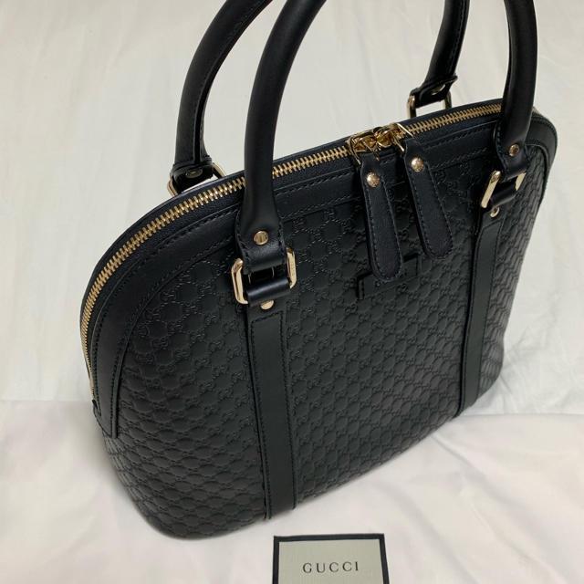 Gucci - GUCCI シマレザーハンドバッグの通販 by MIY★'s shop|グッチならラクマ