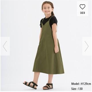ジーユー(GU)の新品 今季新作ストラップサロペットスカート(ワンピース)