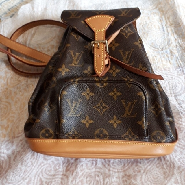 LOUIS VUITTON - ルイヴィトンリュック ミニモンスリの通販 by ma's shop|ルイヴィトンならラクマ