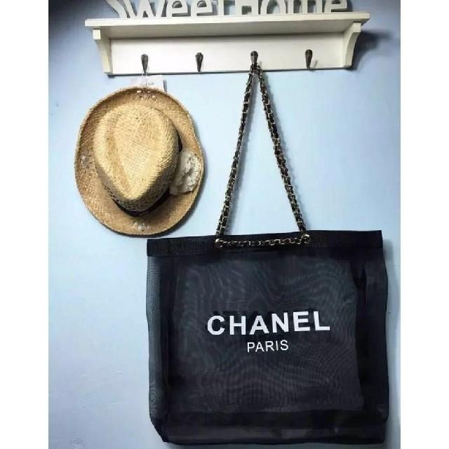 CHANEL - シャネル トートバッグ ノベルティーの通販 by サクラサク's shop|シャネルならラクマ