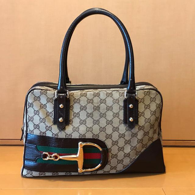 Gucci - GUCCI グッチ GG ボストンバッグ の通販 by そふぃ's shop|グッチならラクマ