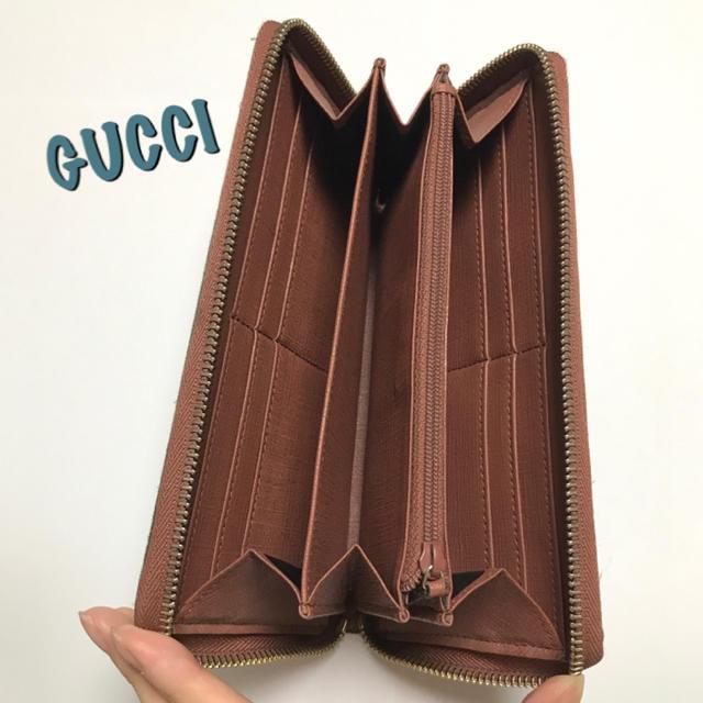 Gucci - ※難あり【GUCCI】長財布 ラウンドファスナー 星柄の通販 by みこ's shop|グッチならラクマ