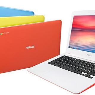 エイスース(ASUS)のAsus Chromebook C300MA ハニーイエロー 訳あり(ノートPC)