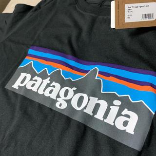 パタゴニア(patagonia)のクーポン期間中値下げ♡パタゴニア キッズ オーガニックTシャツ XL黒(Tシャツ/カットソー)