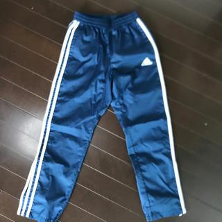 アディダス(adidas)のadidas kids 長ズボン シャカシャカ ブルー 3本ライン  (パンツ/スパッツ)