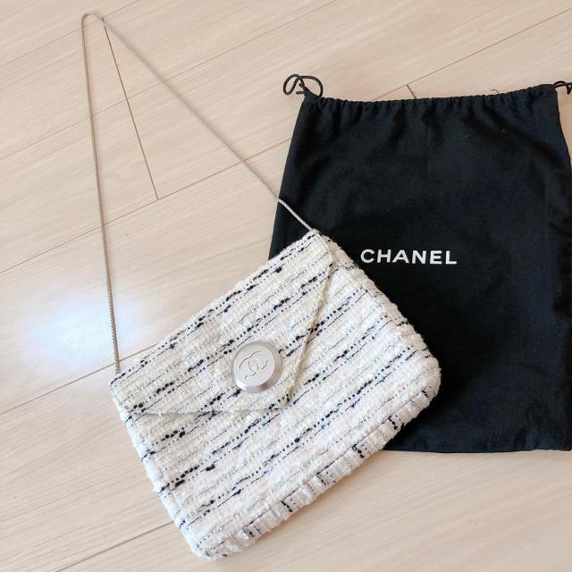 CHANEL - CHANEL☆ツイード☆ショルダーバッグの通販 by pink🌷|シャネルならラクマ