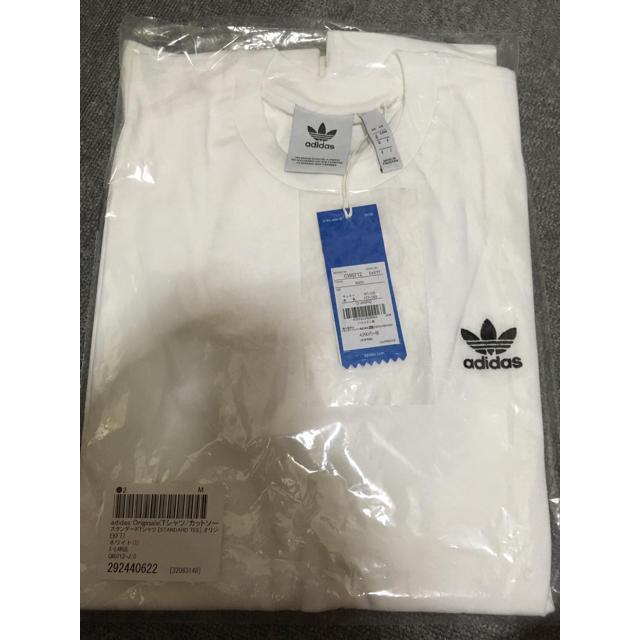 adidas(アディダス)の新品未使用タグ付 adidas アディダス ワンポイントT 国内正規品 TEE メンズのトップス(Tシャツ/カットソー(半袖/袖なし))の商品写真