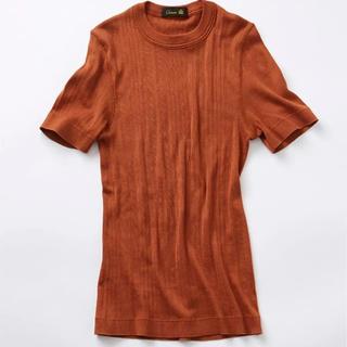 ドゥロワー(Drawer)のDrawer ハリヌキショートスリーブ(Tシャツ(半袖/袖なし))