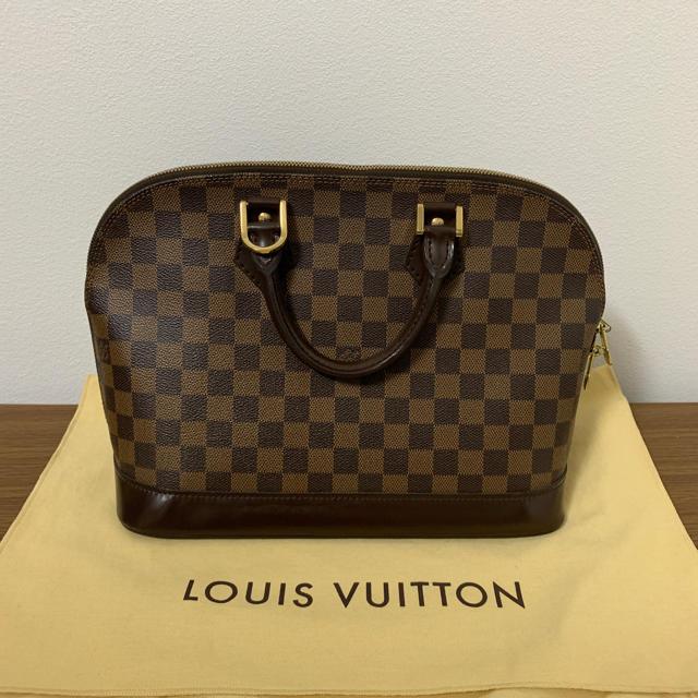 LOUIS VUITTON - 確実正規品  ルイビィトン  ダミエアルマの通販 by えりっこ 必ずプロフ拝見下さい!|ルイヴィトンならラクマ