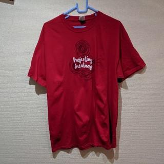 FRUIT OF THE LOOM  赤 グラフィックTシャツ(Tシャツ/カットソー(半袖/袖なし))