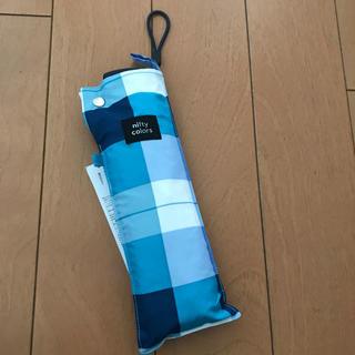 スタディオクリップ(STUDIO CLIP)のnifty colors 新品未使用 折りたたみ傘 日傘 雨傘(傘)