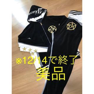 d649fa163b トゥエンティーフォーカラッツ(24karats)の24karats セットアップ ベロアジャージ Star logo☆モデル