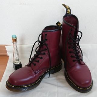 ドクターマーチン(Dr.Martens)のDr.MARTENS 本物 美品 8 ブーツ 赤 (ブーツ)