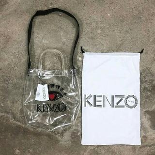 ケンゾー(KENZO)のKENZO 19SS shopping bag  PVC トートバッグ(トートバッグ)