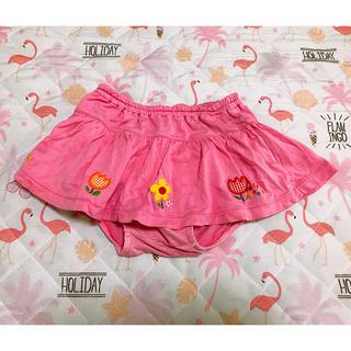 ミキハウス(mikihouse)のミキハウス スカパン  スカート ブルマ付き(スカート)