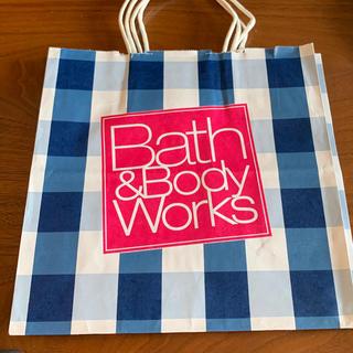 バスアンドボディーワークス(Bath & Body Works)のバス&ボ紙袋2つ(ショップ袋)
