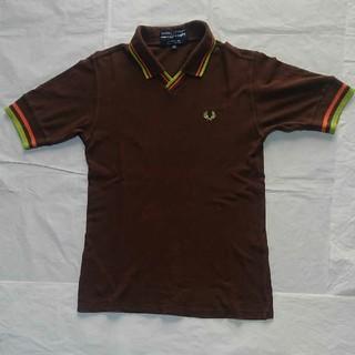 コムデギャルソン(COMME des GARCONS)のコムデギャルソンシャツ フレッドペリー Vネック 鹿の子 ポロシャツ【XS】(ポロシャツ)