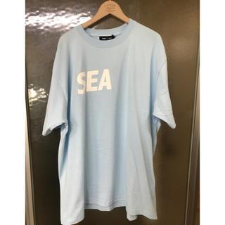 グランドキャニオン(GRAND CANYON)のwindandsea ロゴTシャツ ブルー XL(Tシャツ/カットソー(半袖/袖なし))