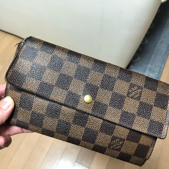 LOUIS VUITTON - ルイヴィトンダミエ長財布の通販 by もえもも's shop|ルイヴィトンならラクマ