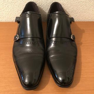 マドラス(madras)の【即納】Madras メンズ ダブルモンク ビジネスシューズ 革靴 26.5(ドレス/ビジネス)