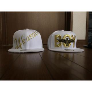 ボーイロンドン(Boy London)の白キャップ帽(キャップ)