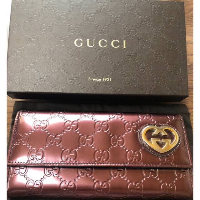 Gucci - GUCCI 長財布 確実正規品の通販 by みーず|グッチならラクマ