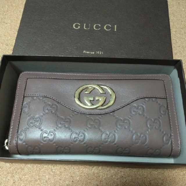 Gucci - GUCCI長財布ラウンドファスナーの通販 by Ken's shop|グッチならラクマ