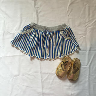 サニーランドスケープ(SunnyLandscape)のサニーランドスケープ スカート ベビー ストライプ(スカート)